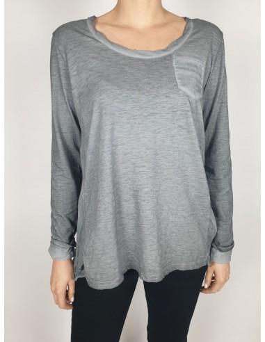 T-shirt Seta e Cotone