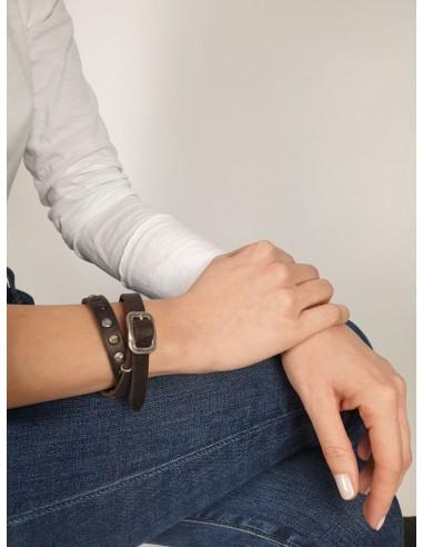 Bracelet - Doppio Borchiette