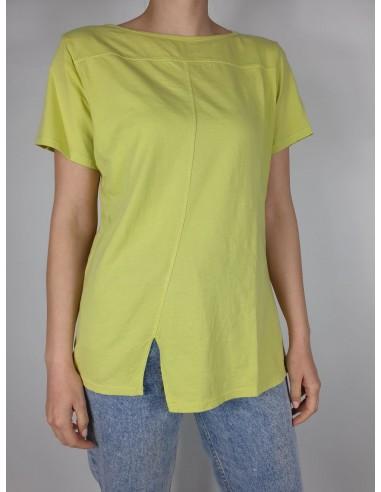 T-shirt Cuciture short sleeves