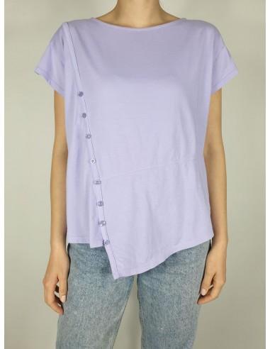 T-shirt Bottoncini M/C